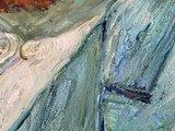 detail Self Portrait Vincent Van Gogh replica