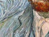 Self Portrait Van Gogh reproduction reproduction detail