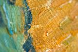 detail Pine Trees at Sunset Van Gogh reproduction