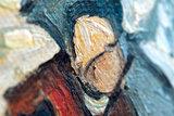 Pine Trees at Sunset Van Gogh replica