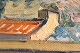 Enclosed Field with Peasant Van Gogh replica detail