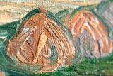 detail Plain near Auvers Van Gogh reproduction
