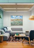 Plain near Auvers Van Gogh framed