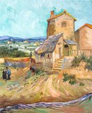 The Old Mill Van Gogh reproduction