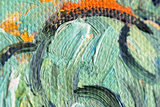 Huts surrounded by Olive Trees and Cypresses Van Gogh detail