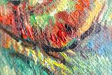 detail Pieta Van Gogh reproduction