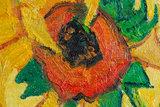 Vase with 15 sunflowers Van Gogh
