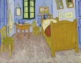 Vincens Bedroom in Arles Musee dOrsay Van Gogh Reproduction