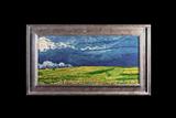 Wheat Field under Thunderclouds by Geert Jan Jansen