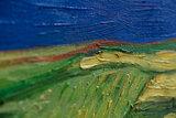 detail Wheat Field under Thunderclouds by Geert Jan Jansen