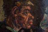 The Potato Eaters Van Gogh Reproduction detail