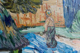 Houses in Auvers Van Gogh Reproduction detail