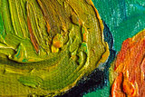 Two Lovers Van Gogh reproduction detail