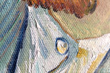 detail Self Portrait Vincent Van Gogh reproduction