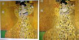 Portrait of Adele Bloch Bauer Klimt reproduction, hand-painted in oil on canvas_