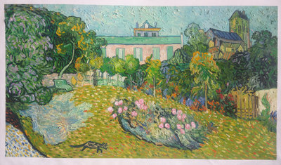 Daubigny's Garden Van Gogh reproduction, hand-painted in oil on canvas