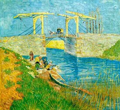 The Langlois Bridge at Arles Oil Painting Reproduction, 1888
