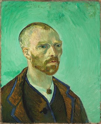 Self-Portrait (Dedicated to Paul Gauguin) Van Gogh Reproduction, hand-painted in oil on canvas