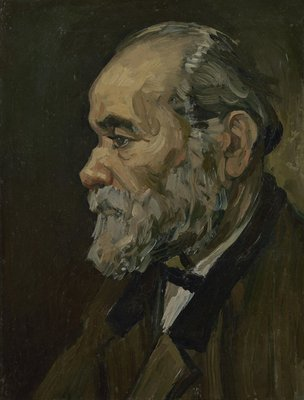 Portrait of an Old Man with Beard Oil Painting Reproduction, 1885