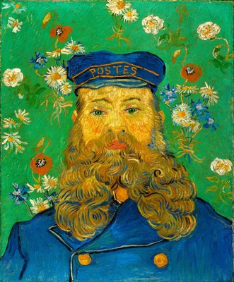 Portrait of the Postman Joseph Roulin Kröller-Müller Van Gogh Reproductions, hand-painted in oil on canvas