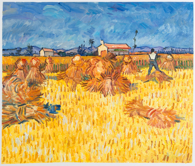 Harvest in Provence Van Gogh Reproduction, 1888