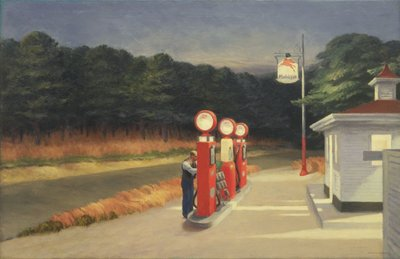 Gas Edward Hopper oil painting reproduction