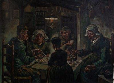 The Potato Eaters Van Gogh Reproduction
