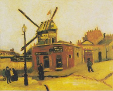 Le Moulin de la Galette Van Gogh reproduction