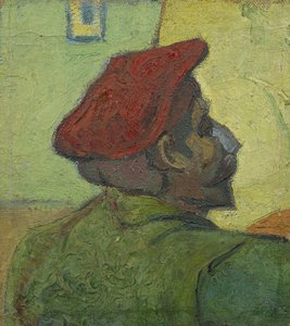 Paul Gauguin (Man in a Red Beret) Van Gogh reproduction