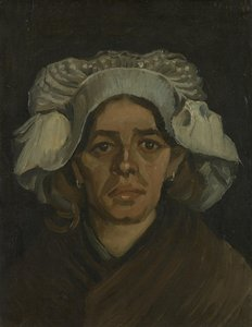 Head of a Woman Van Gogh reproduction
