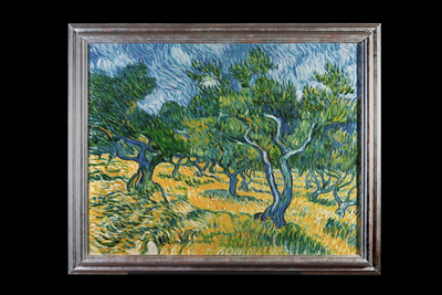 Olive Grove by Geert Jan Jansen, hand-painted in oil on canvas