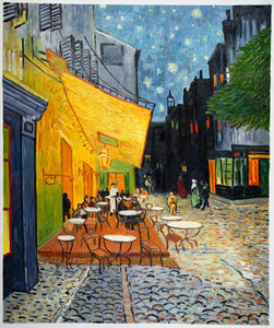 Van Gogh reproduction Cafe Terrace at Night Oil Painting