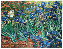 Irises Van Gogh reproduction