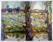 Van Gogh ReproductionOrchard in Blossom with View of Arles