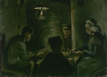 study for the potato eaters Van Gogh reproduction