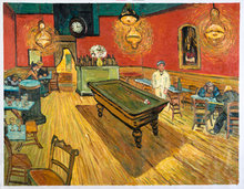 The Night Cafe in the Place Lamartine Oil Painting Reproduction